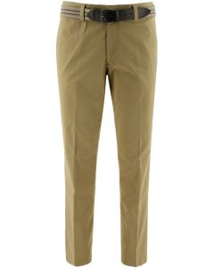 Henk ter Horst modern fit Chino-Hose Sand