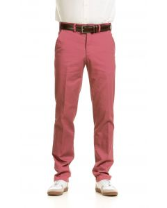 Schlank fallende Chino Hose, rot
