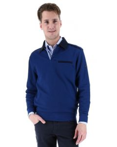 Meantime Pullover, blau