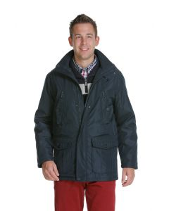 Sea Barrier Winterjacke langes Modell (WJ11), dunkelblau
