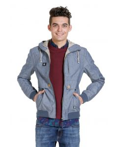 Jack en Jones Sommerjacke JJORMINT bomber, denim look/grau