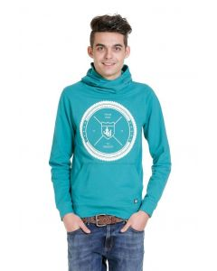 Jack & Jones Pique sweat hood, grün