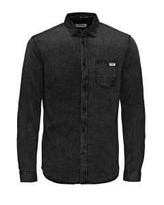 Jack & Jones JJORPRESS hemd, schwarz