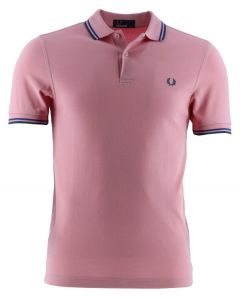 Fred Perry Poloshirt, lachsfarben