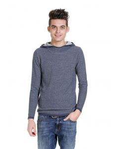 Jack & Jones Kadyn knit hood, blau