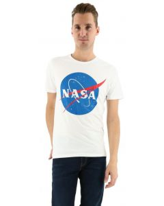 Jack & Jones Jornasa tee crew neck wit nasa