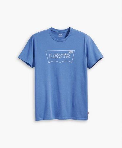 Levi/'s Kinder T-Shirt Batwing Logo Baumwolle Marine Dunkelblau