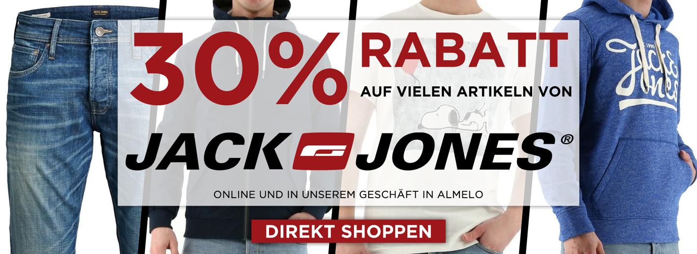 Jack und Jones Rabatt 30%