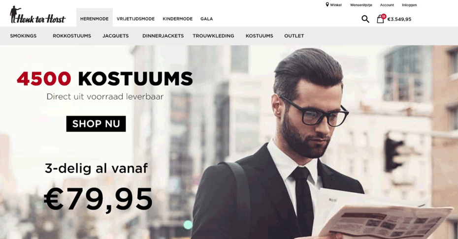 Henk ter Horst Onlineshop