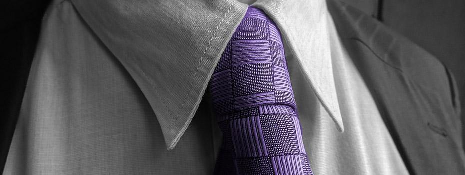 passender Krawattenknoten
